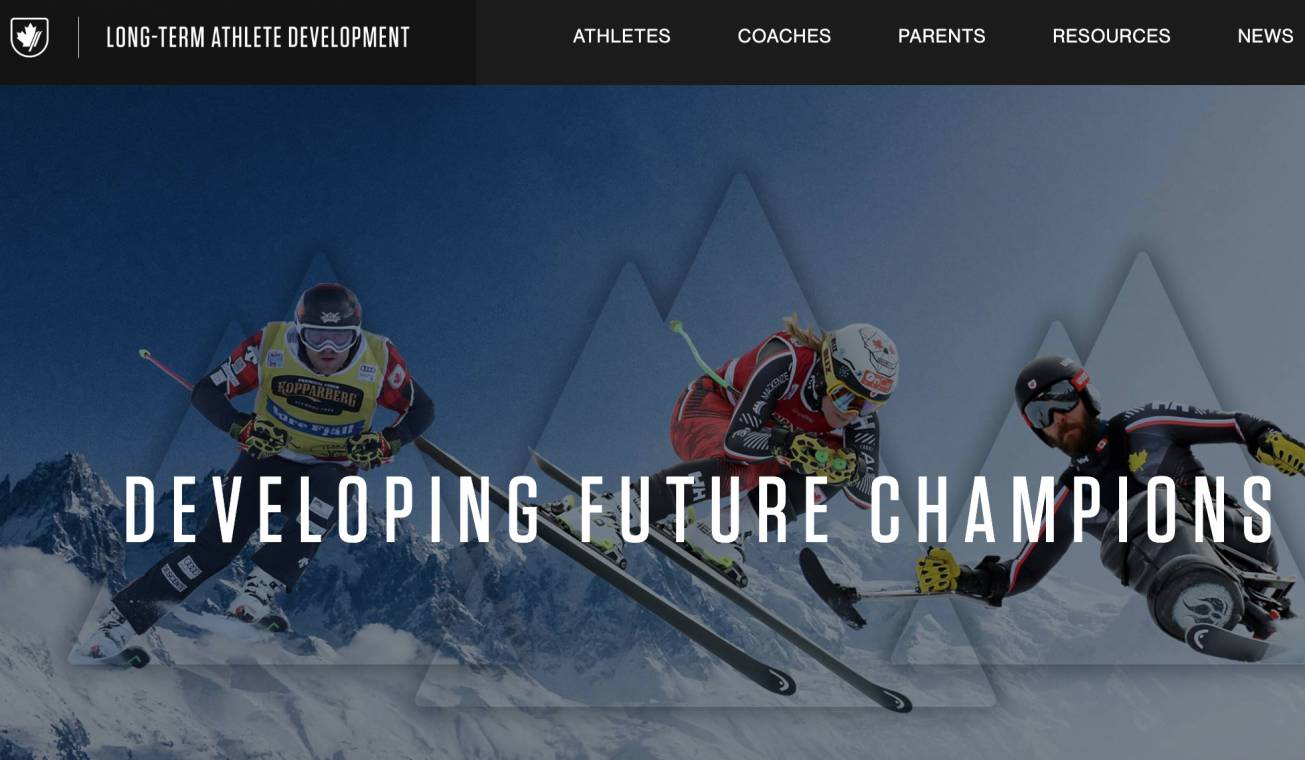ALPINE CANADA LAUNCHES NEW LONG-TERM ATHLETE DEVELOPMENT WEB SITE RESOURCE