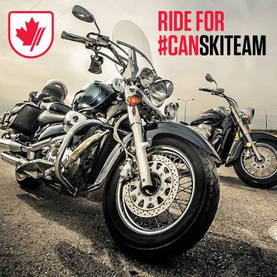 Ride for #CANskiteam