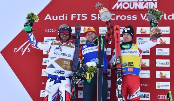 Alpine Canada | News | BRADY LEMAN WINS GOLD, MARIELLE THOMPSON