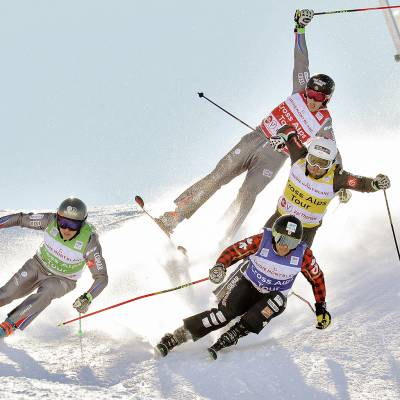 FIS SKI CROSS WORLD CUP - VAL THORENS, FRA